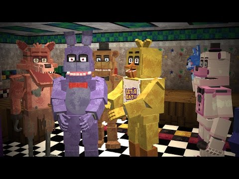 Minecraft: Five Night's at Freddy's Universe Mod Showcase!