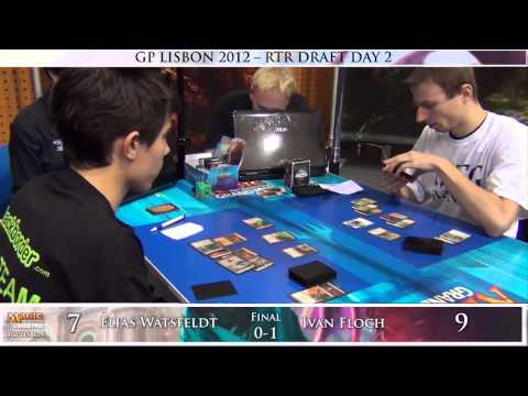 Grand Prix Lisbon Finals: Elias Watsfeldt vs. Ivan Floch (Return to Ravnica Draft)