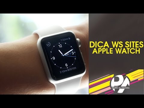 Dica WS Sites - Apple Watch