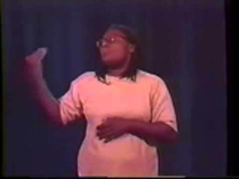 Deaf Black woman   LAURENE GALLIMORE