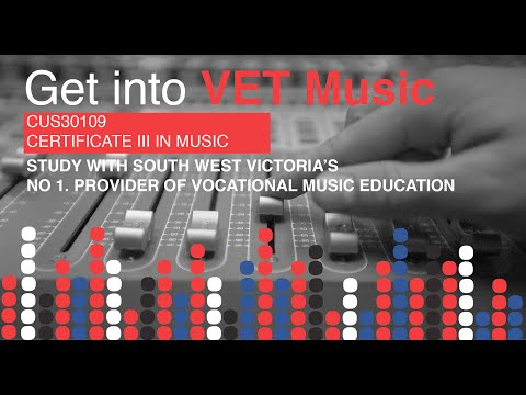 VET Music - Certificate III in Music at Emmanuel College