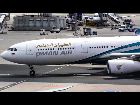 Oman Air Airbus A330[A4O DE] Taxiing at Frankfurt