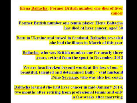 Elena Baltacha   Former British Number One Dies Of Liver Cancer 004