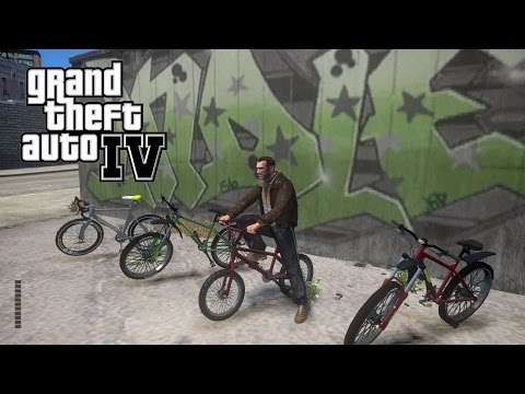 GTA 4 - Bicycle Pack & Animations Mod