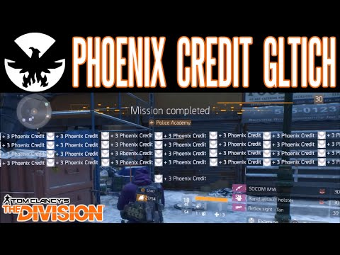 The Division Phoenix Credit Glitch Exploit After Patch | Best Farming Method | Rare Weapons & Items