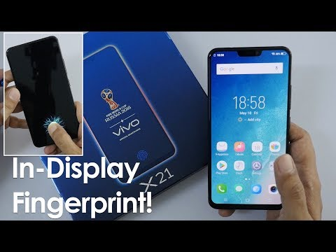 Vivo X21 Unboxing & Overview with In Display Fingerprint Scanner