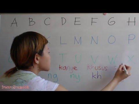 LEARN INDONESIAN LANGUAGE #1 ABCD .. XYZ