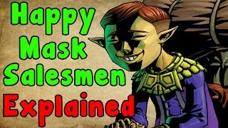 Zelda Theory - The TRUE INTENTIONS  Of The Happy Mask Salesman