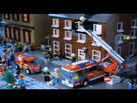 Lego City Pompieri spot by Testi Giocattoli – www.testistore.it