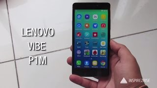 Lenovo Vibe P1m review with full unboxing [CAMERA, GAMING, BENCHMARKS]