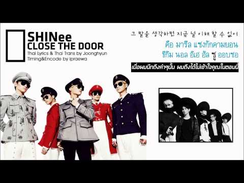 [Karaoke-Thaisub] SHINee - Close The Door by ipraewaBFTH