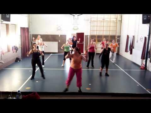 Dance For 1 Goal -- Waka Waka -- Zumba Class Driewegen 1 Netherlands Edition 2 video