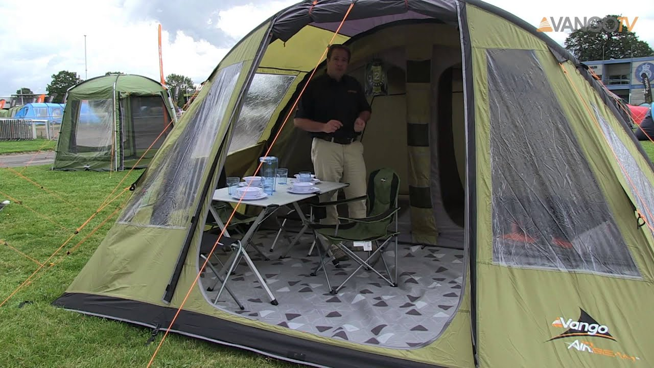 Vango Airbeam 174 2013 Kinetic Range Youtube