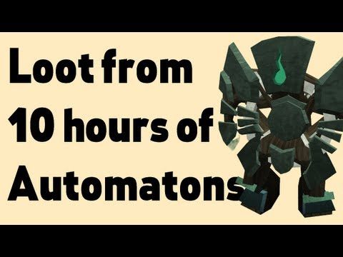Loot from 10 hours of Automaton guardians