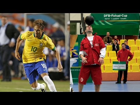 Neymar vs Sean Garnier [TOP 5 Skills/Tricks]