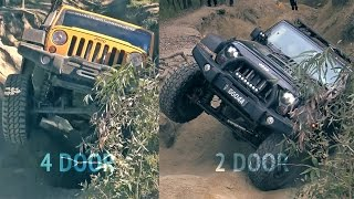 Jeep Wrangler JK and JKU offroading in Land Cruiser Mountain Park