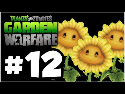 Plants vs. Zombies Garden Warfare Walkthrough - SUNFORCE!! Part 12 (Xbox One 1080p HD)