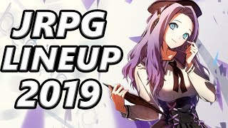 JRPG Lineup of 2019 - OVER 20 JRPGs COMING to PS4, Switch, Xbox One, and PC!