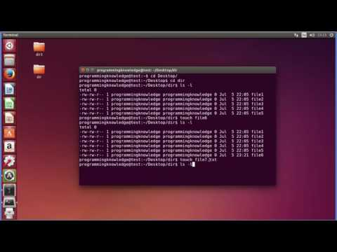 Linux Command Line Tutorial For Beginners 11   touch command