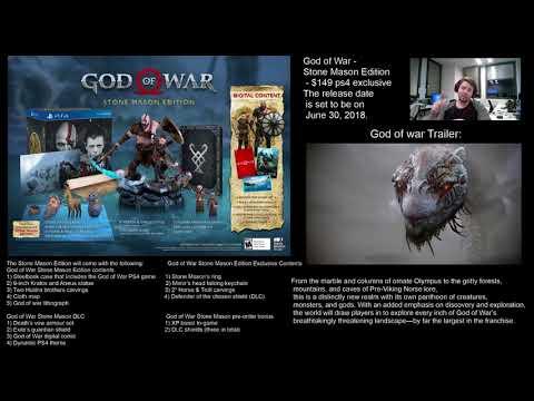 God of War  Stone Mason Edition (Pre-Review) (God of war 4) thumbnail