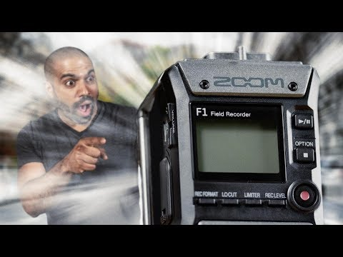 Hands-On Review | Zoom F1 Field Recorder