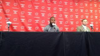 James White compares Wisconsin's culture to The Patriot Way