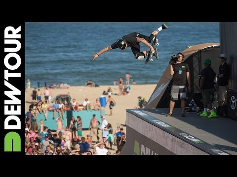 Pierre-Luc Gagnon's Third Run from Skate Vert Final, 2014 Dew Tour Beach Championships