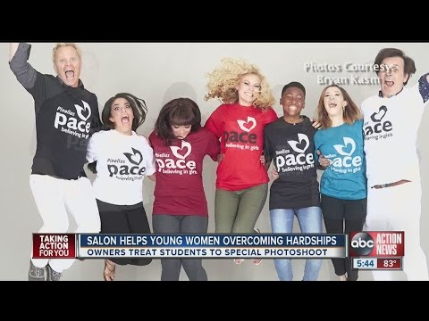 Student success stories at  PACE Center for Girls get supermodel photo shoot