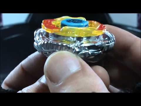 BB-122-FX Diablo Nemesis X:D REVIEW and TEST Beyblade Hyperblades SPARK FX (Hasbro) HD! AWESOME