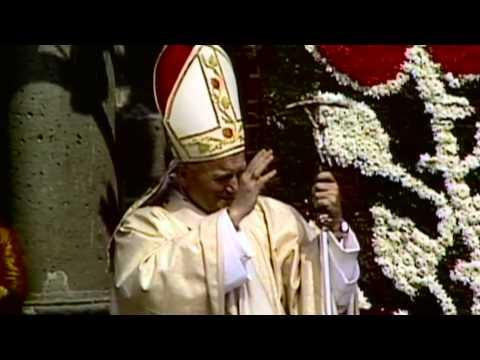 Homenaje Juan Pablo II - 1era Visita