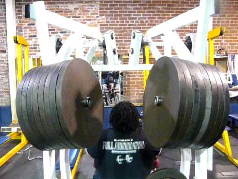 Big Cliff  goes for the record 765lbs+ Seated Rows Music Videos