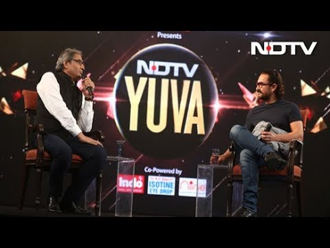 """#NDTVYuva - """"As Citizens We Should Question Our Government"""": Aamir Khan To NDTV thumbnail"""