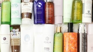 My Updated Cleanser Collection