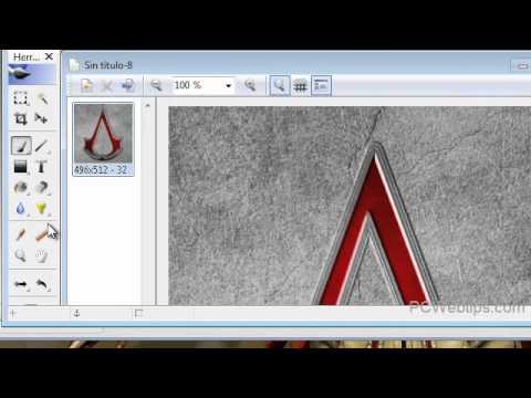 Como crear iconos Alta Resolucion con Imgenes | Online o Programa