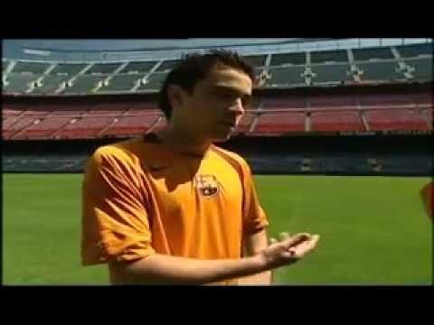 La clase del Barça, Xavi e Iniesta