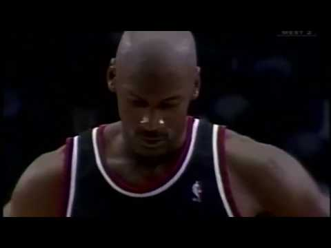 Michael Jordan missed two clutch freethrows then amazing happens . .