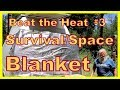 Survival/Space Blanket: Super Cheap Way to Cool a Van or RV
