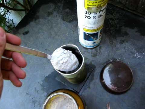 Термитная смесь своими руками