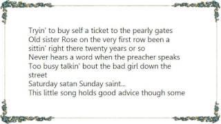 Watch Ernest Tubb Saturday Satan Sunday Saint video