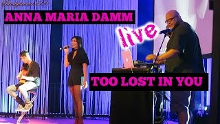 Anna Maria Damm - too lost in you - LIVE at GLOWCON HANNOVER | Sandylicious