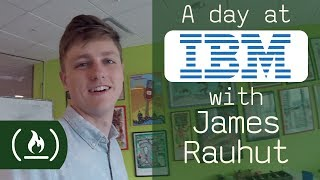 A day at IBM with designer James Rauhut