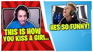 SYMFUHNY GETS RELATIONSHIP ADVICE FROM THIS SUPER FUNNY RANDOM DUO FILL!