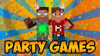 """Dansk Minecraft - Party Games - """"KOVA DIN GRISEHANDLER!!!"""""""