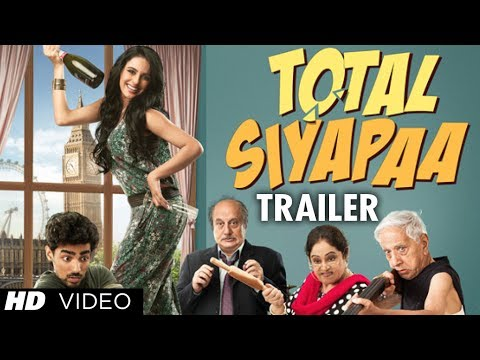 total Siyapaa Trailer (official) 2013 | Ali Zafar, Yaami Gautam, Anupam Kher, Kirron Kher video