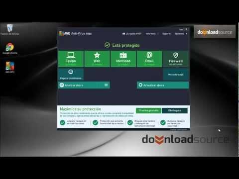 Como usar las funciones básicas de AVG Anti-virus Free Edition 2013