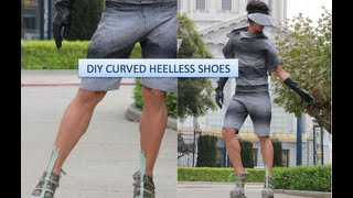 DIY Curved Heelless Shoes | Fall Conceptual Outfits 2012