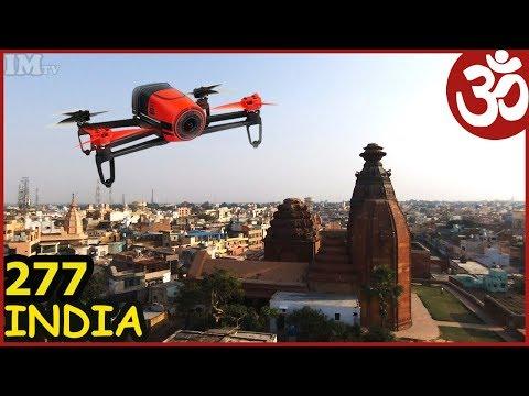INDIA VRINDAVAN BEST FROM DRONE. JAI VRINDAVAN DHAM