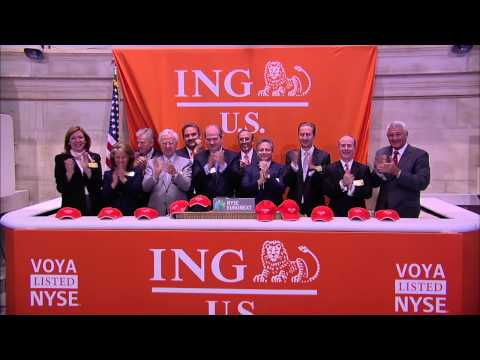 ING U.S. Celebrates IPO on the NYSE rings the NYSE Opening Bell