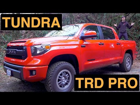 2015 Toyota Tundra TRD Pro - Review & Test Drive