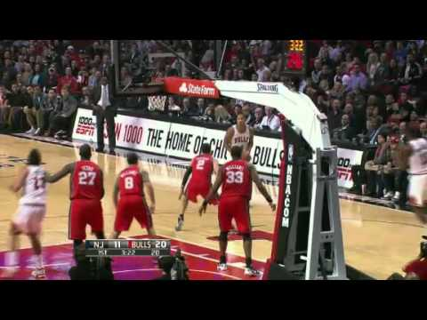 Nets vs Bulls - 1/23/12 Recap & Highlights
